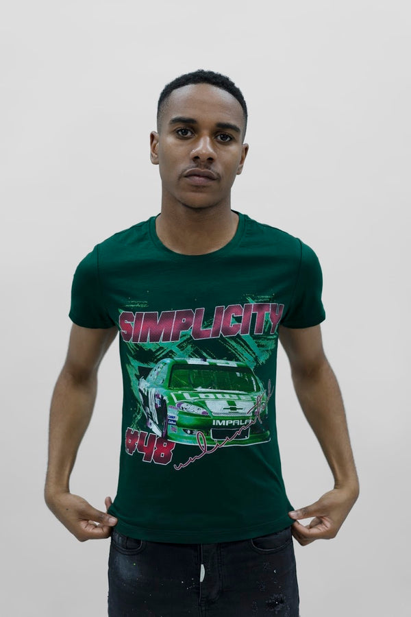 Green 48 Racer T-Shirt