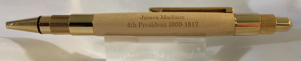 James Madison Click Pen