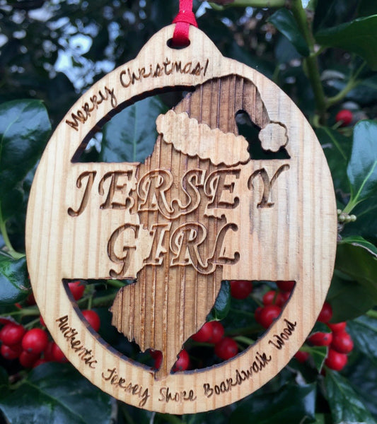 Jersey Girl Christmas Ornament