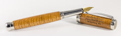 Gettysburg 1863 Stainless Steel - Fountain Pen
