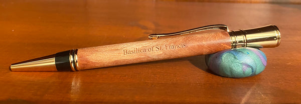 Basilica of St. Francis - Executive Style Sleek Twist Ballpoint