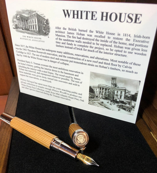 White House Witness Wood® Pens