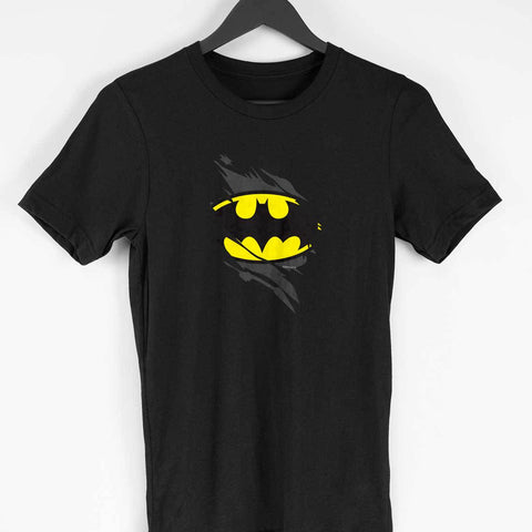 batman logo men's tshirt