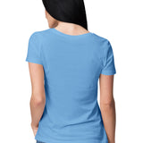 follow your heart womens top sky blue