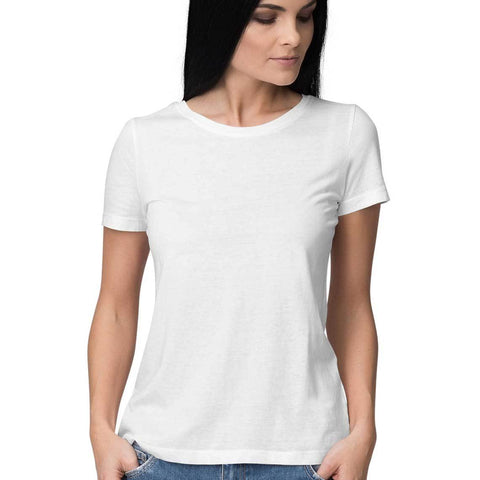 Women's Plain White Top