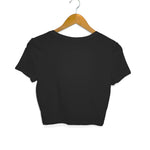Sati Savitri Black Crop Top