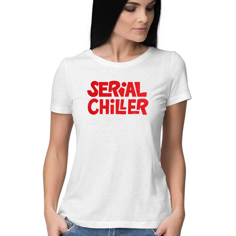 Serial Chiller Half Sleeve Top