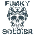 Funky Soldier Half Sleeve T-Shirt