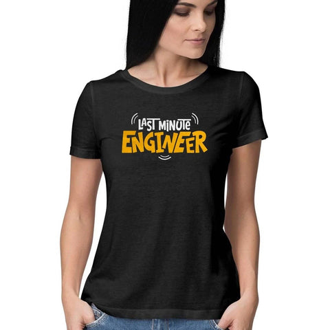 Last Minute Engineer Half Sleeve Top