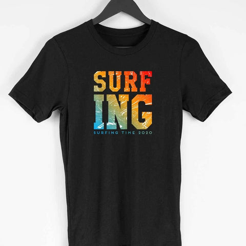 Surfing Men's Printed T-Shirt