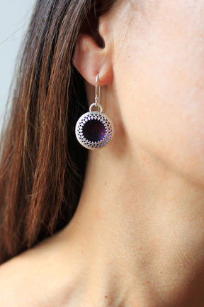 marrakesh disc earrings