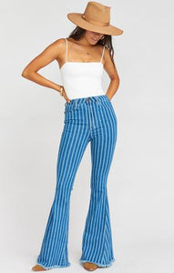 Berekley Pin Strip Bell Bottoms