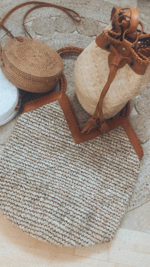 Oversized Straw Bag