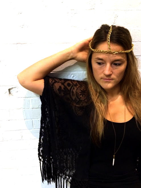 Vintage Three-Way Chain Headpiece