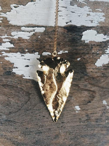 24K Ventura Arrowhead Necklace *SOLD OUT