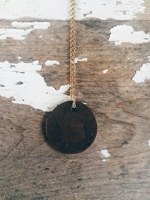 Oxford Vintage Coin Necklace