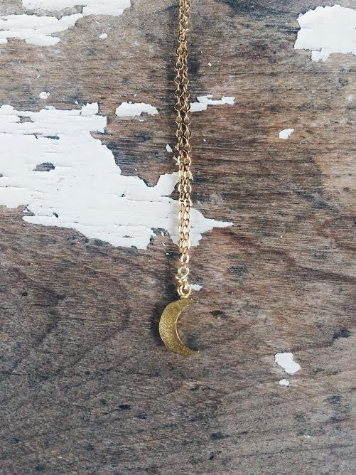 Laguna Little Moon Necklace