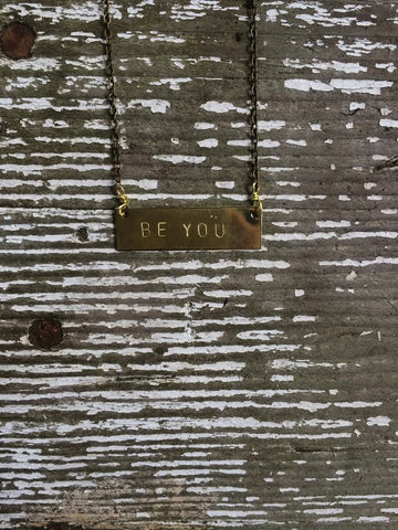 Be You Barre Necklace