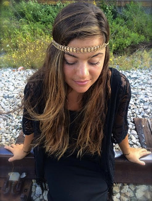 Vintage Braid Chain Headpiece