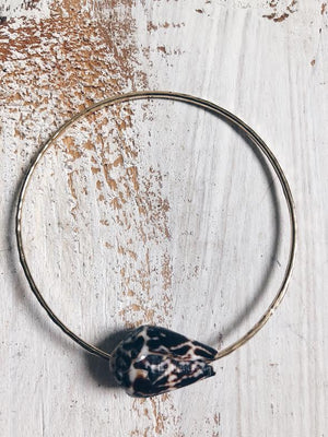 Chaldean Cone Shell Bangle