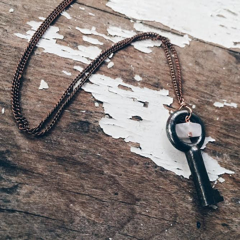 Key to a Cure Necklace