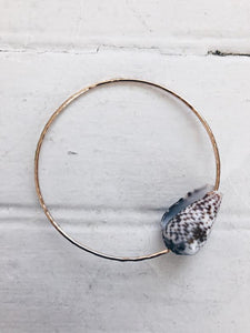 Cat Cone Shell Bangle