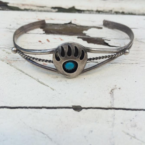 Vintage Navajo Shadow Box Bangle