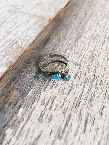 Vintage Turquoise Midi Ring *SOLD