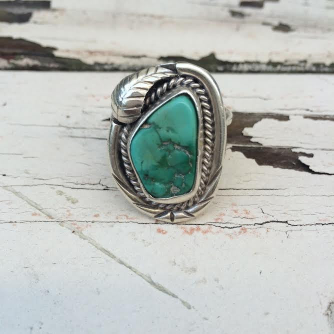 Vintage Navajo Feather Ring *SOLD