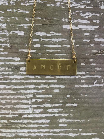 Amore Barre Necklace