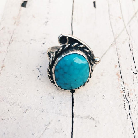 Vintage Turquoise Ring *SOLD