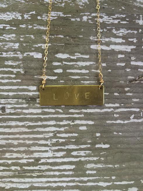 Love Barre Necklace