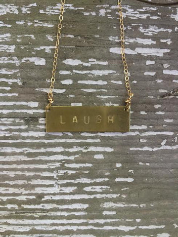 Laugh Barre Necklace