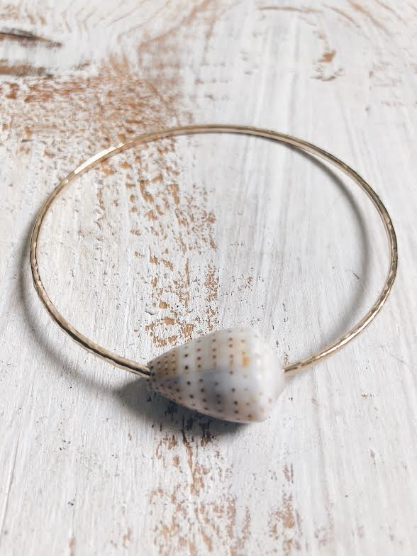 Ceylon Cone Shell Bangle