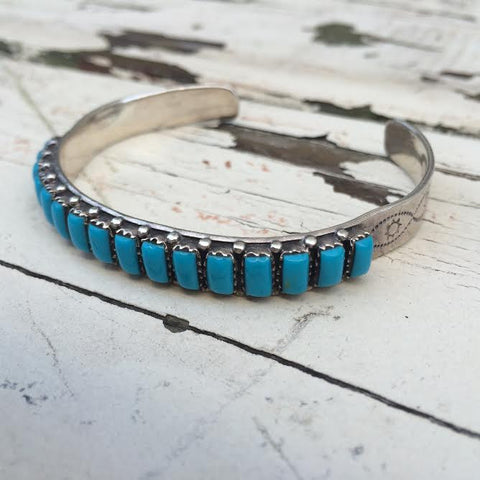 Vintage Zuni Turquoise Bangle *SOLD