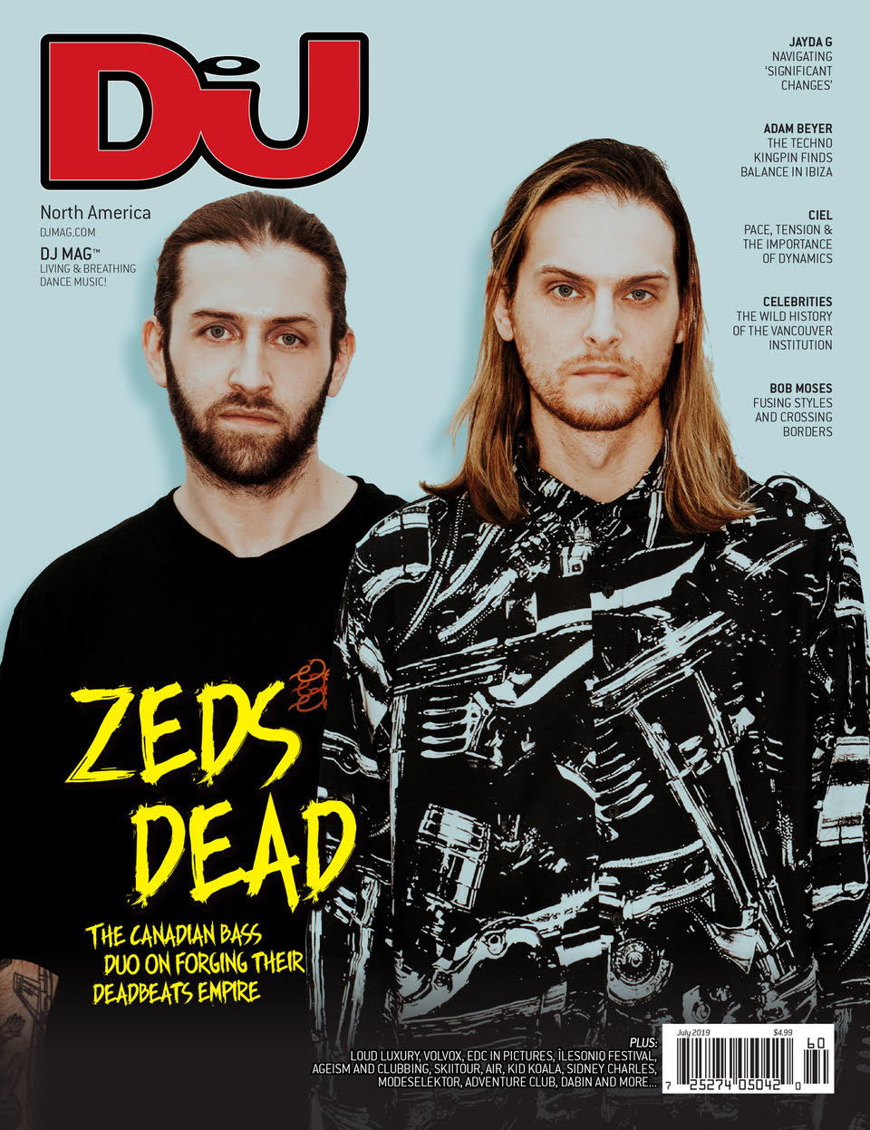 DJ Mag July 2019 (North America) - digital