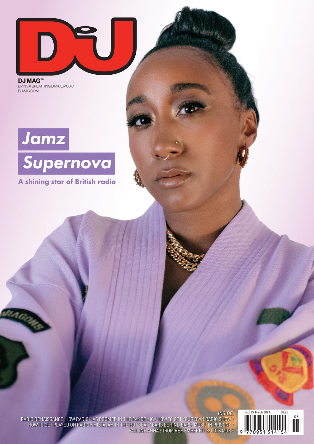 DJ Mag March 2021 (UK) - printed
