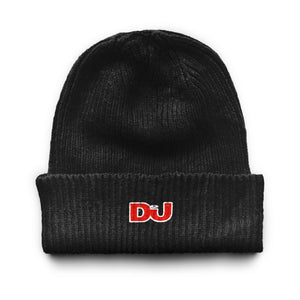Black Cuffed Beanie Hat