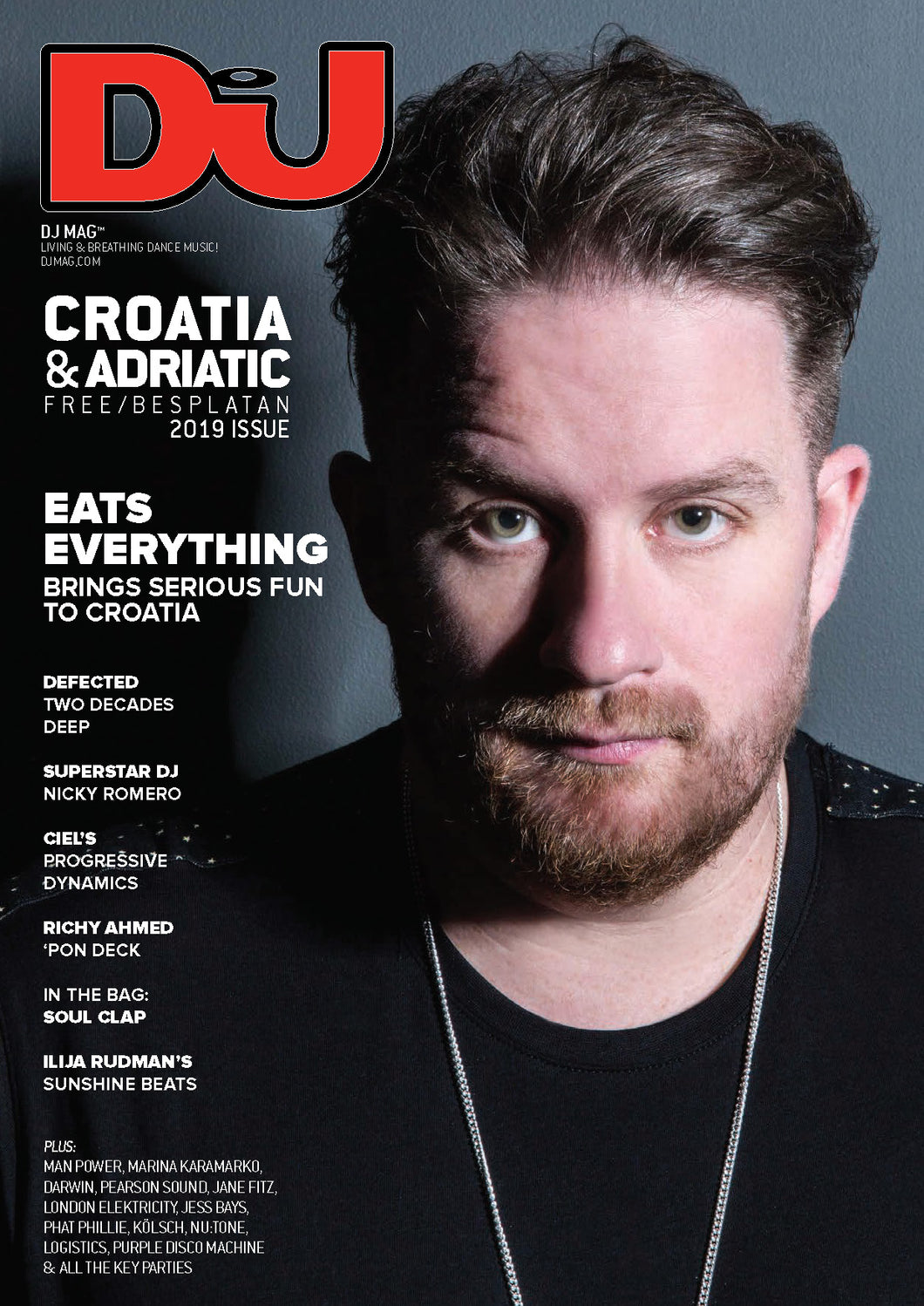 DJ Mag July 2019 (Croatia) - printed