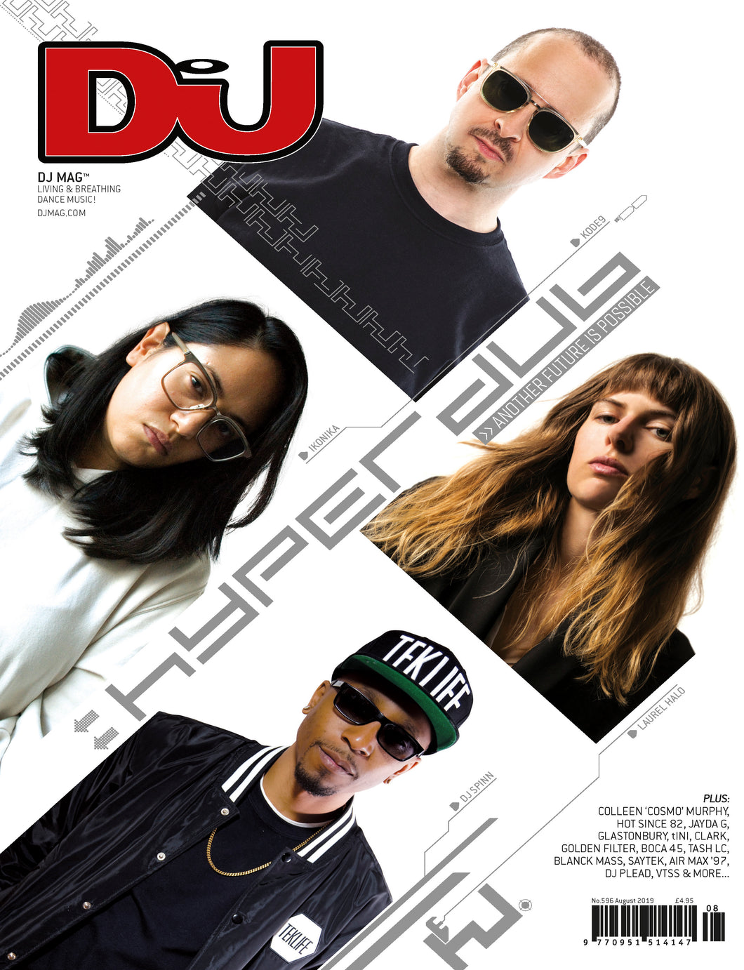 DJ Mag August 2019 (UK) - printed