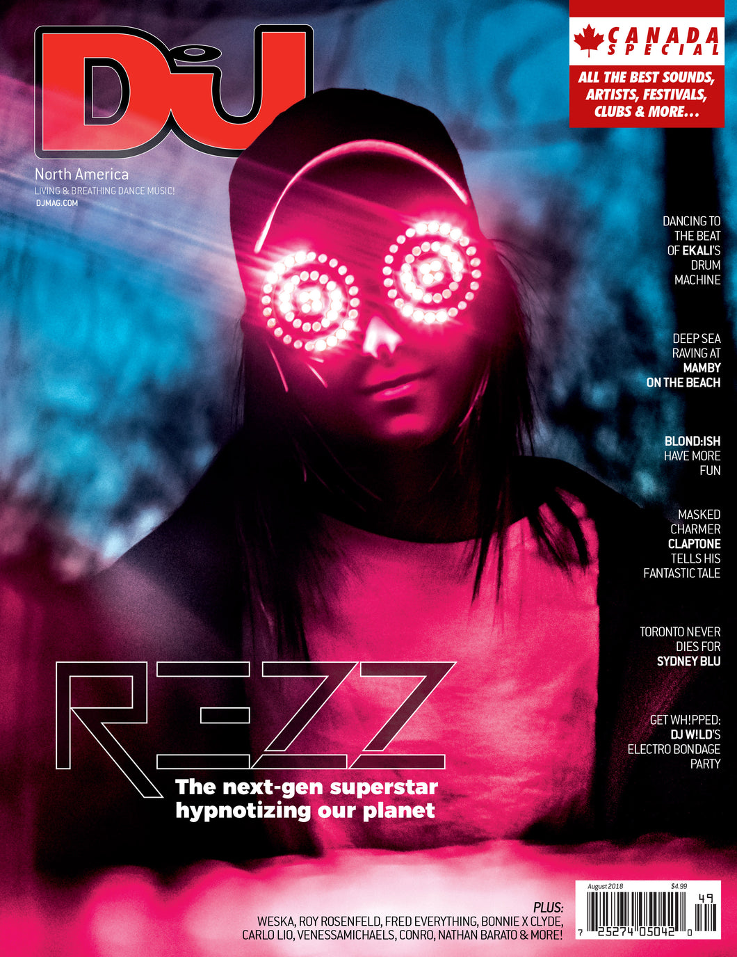 DJ Mag August 2018 (USA & Canada) - digital cover
