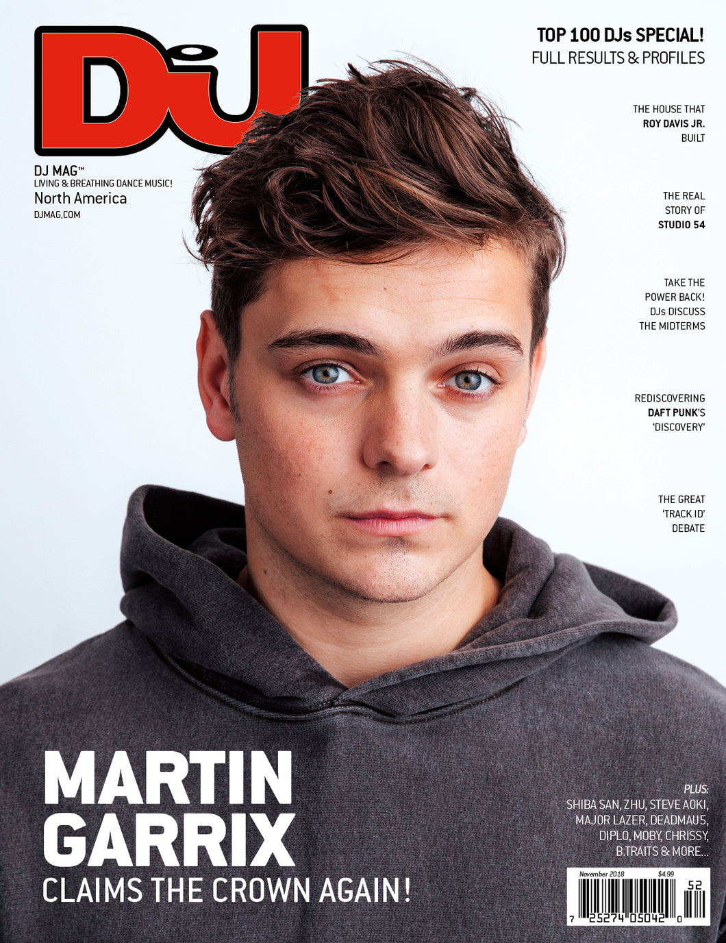 DJ Mag November 2018 (USA & Canada) - digital cover