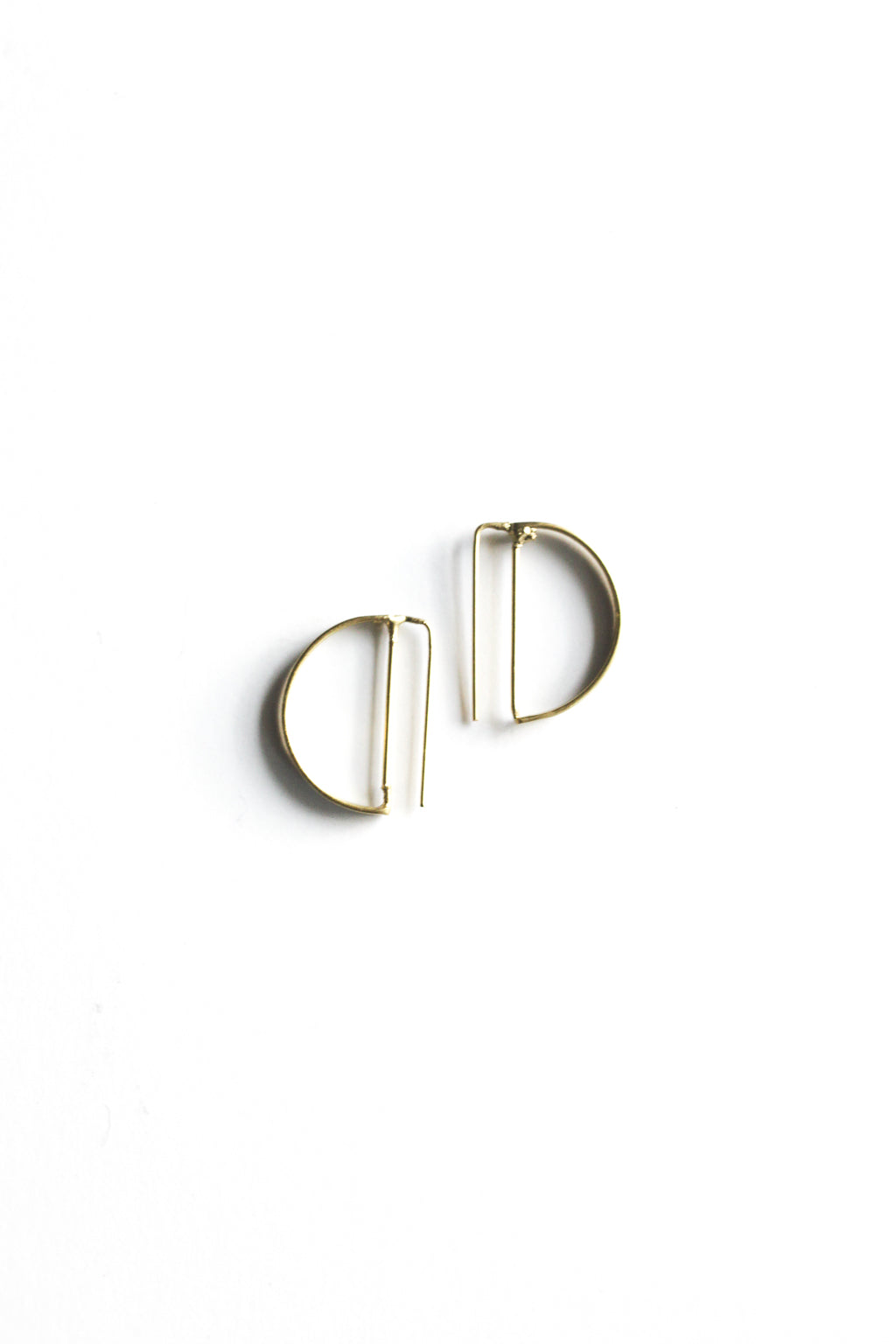 Circle Outline Earrings