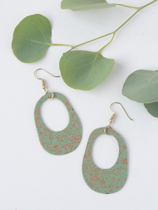 Painted Pond Earrings - Nickel & Thread