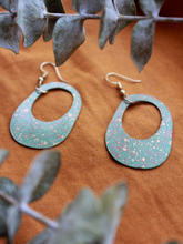 Load image into Gallery viewer, Painted Pond Earrings - Nickel & Thread