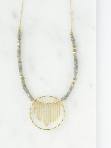 Gold Mist Necklace - Nickel & Thread