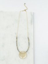 Load image into Gallery viewer, Gold Mist Necklace - Nickel & Thread