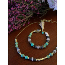 Load image into Gallery viewer, Playful Pastels Beaded Bracelet - Nickel & Thread