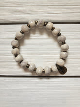 Load image into Gallery viewer, Bel Koz Beaded Bracelet - Ivory