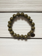 Load image into Gallery viewer, Bel Koz Beaded Bracelet - Olive